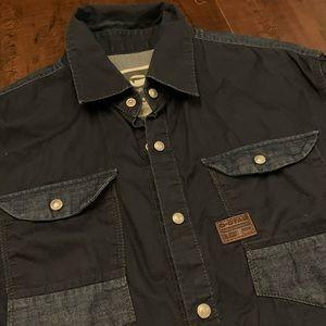 G-star raw jeans slim fit long sleeves shirt